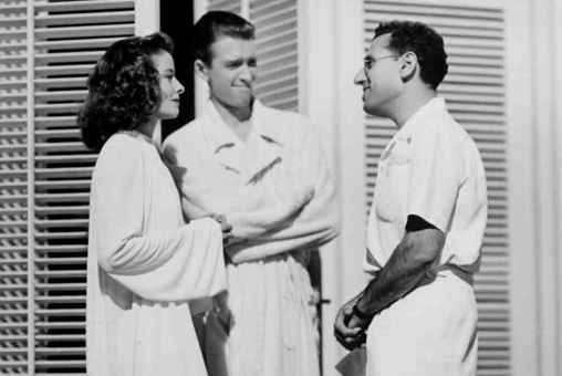 james stewart and katharine Hepburn, the Philadelphia story, classic movie actress, george cukor