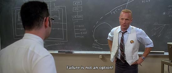 From movie Apollo 13