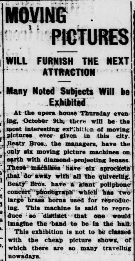 Morning Appeal, Carson City NV, Oct. 8 1902.