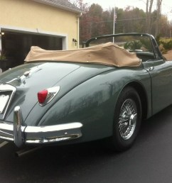the 1958 xk150 came with two engines the dohc jaguar straight 6 rated at 180 sae bhp at 5750 rpm was the early production engine later most were running  [ 1600 x 1195 Pixel ]
