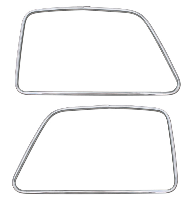 Outside Door Molding-Stainless-pr-Classic Chevy Truck Parts