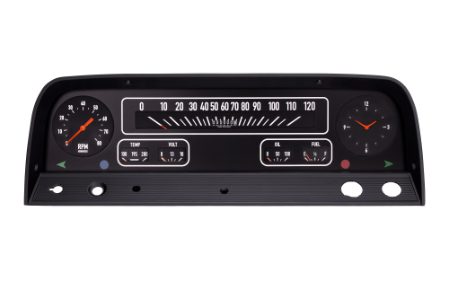 small resolution of  1964 66 chevy truck aftermarket gauge package