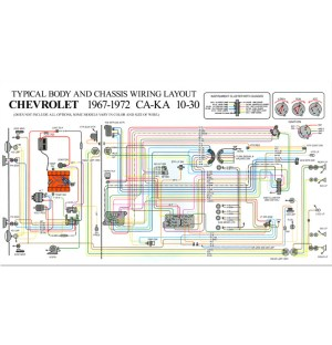 Full Color Wiring DiagramStdClassic Chevy Truck Parts