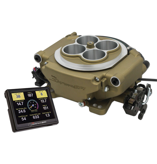 hight resolution of holley sniper efi self tuning kit gold finish