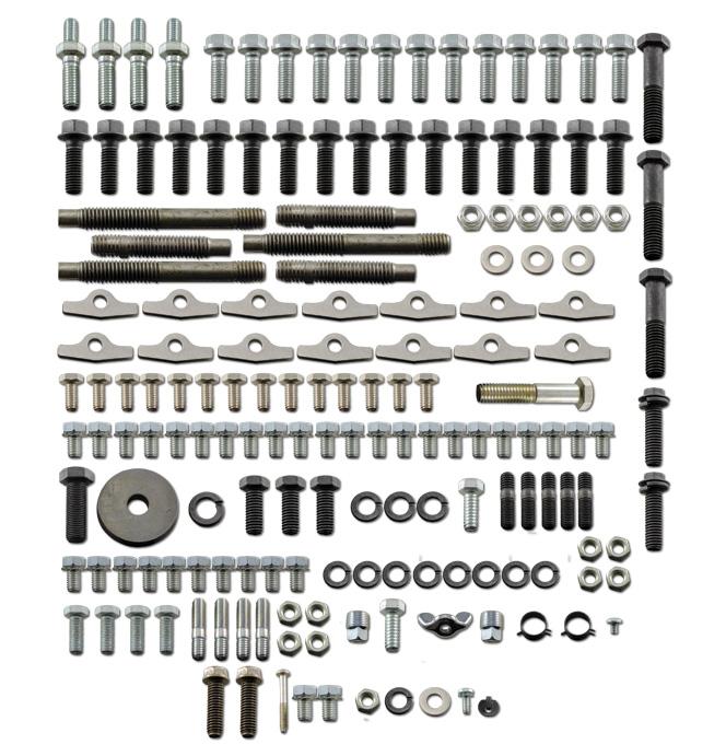 Master Engine Bolt Kit-Big Block-Aluminum Intake-Classic