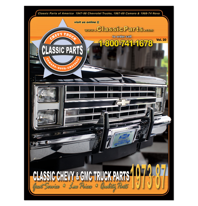 Chevy Truck Parts Catalog