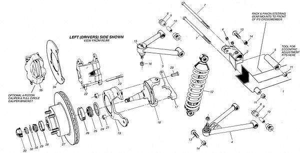 Front Suspension Diagram