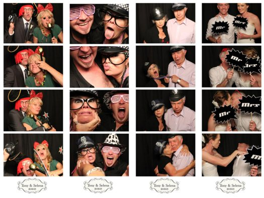 Tony & Selena's Photobooth Wedding