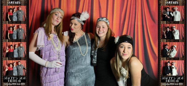 Stacey's 21st Vintage Photo Booth Hire