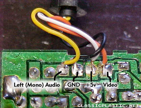 Stereo Wire Diagram David S Video Game Insanity Features Mod Files