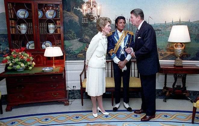 Michael Jackson The White House