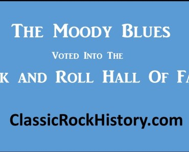 Moody Blues Rock and Roll Hall of Fame