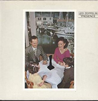 Led Zeppelin Presence Album Cover