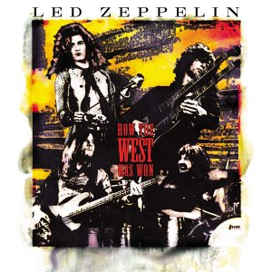 Led Zeppelin How The West Was One CD Cover
