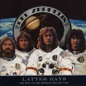 Led Zeppelin Latter Days cover