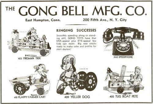 small resolution of 1937 gong bell advertisement