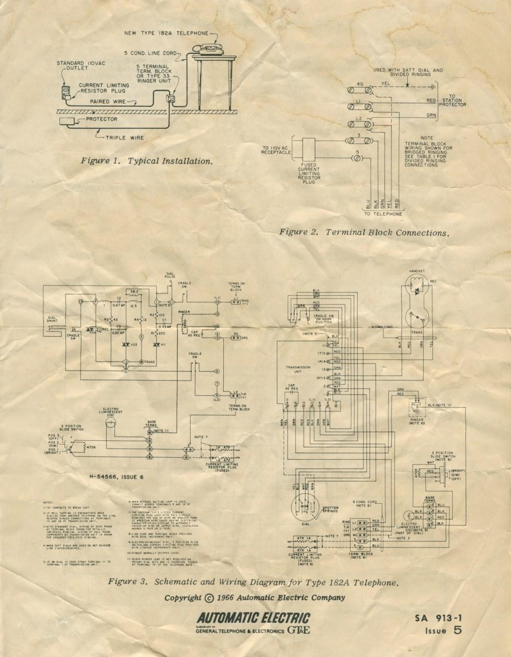 medium resolution of type 182a starlite wiring and schematic type 182a starlite instructions type 183 space maker