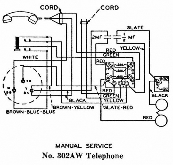 Wiring Diagram For Old Rotary Phone : 35 Wiring Diagram