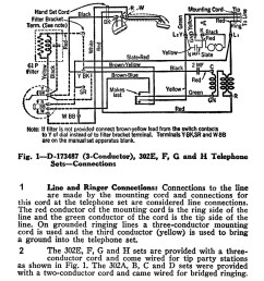 telephone wiring diagram for wall mount wiring diagrams scematic telephone interface box wiring diagram classicrotaryphones com [ 950 x 1065 Pixel ]