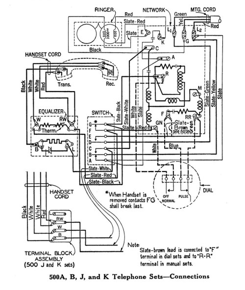 small resolution of classicrotaryphones com wiring diagrams 4 wire telephone wiring diagram dial phone wiring diagram