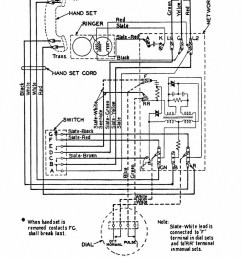 rotary dial telephone wiring diagram wiring diagram classicrotaryphones com wiring diagrams mix 500c and d rotary [ 900 x 1202 Pixel ]