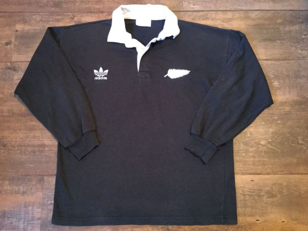 Classic Rugby Shirts 1980 Vintage Blacks Jersey