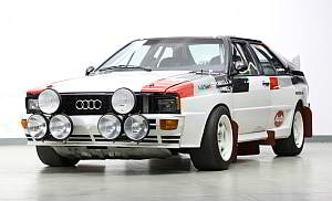 1982 Audi Quattro A1 Group B Rally Car