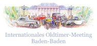 Internationales Oldtimer Meeting in Baden-Baden
