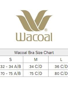 Size chart also wacoal halo lace soft cup bra women   rh classicshapewear