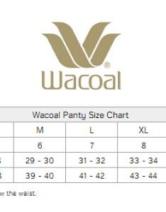 Size chart also wacoal perfect primer hi cut panty rh classicshapewear