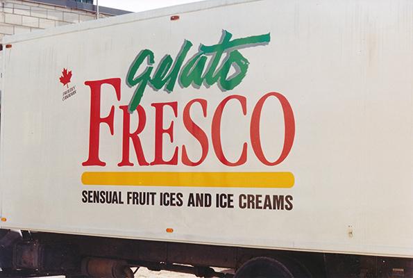 Gelato Fresco Truck