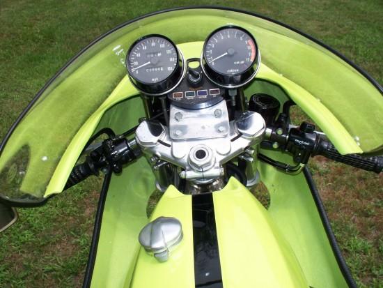 1975 Rickman CR900 Cockpit