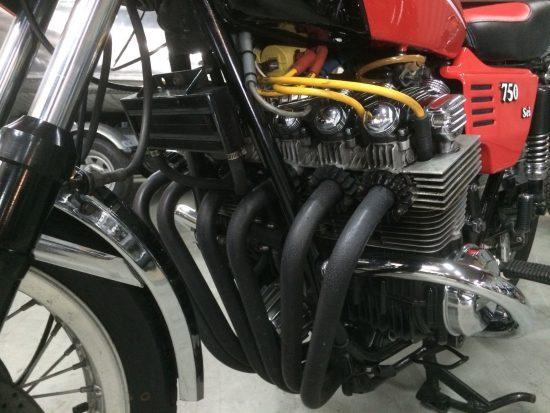 1977 Benelli Sei Engine