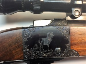 The Jack O'Connor rifle, serial# 20 in .375 H&H.