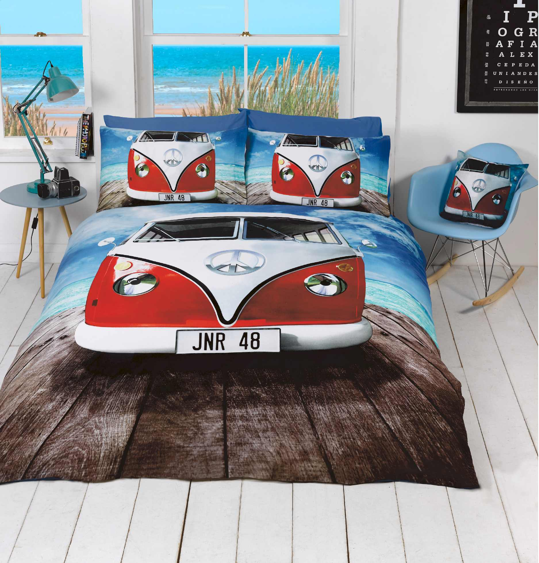 Boardwalk Camper Duvet Cover Set From Century Textiles