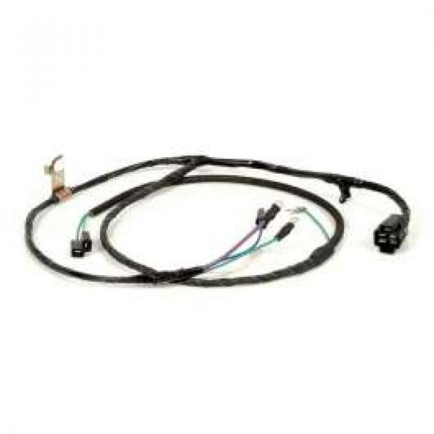 Chevy Truck Engine & Starter Wiring Harness, With Warning