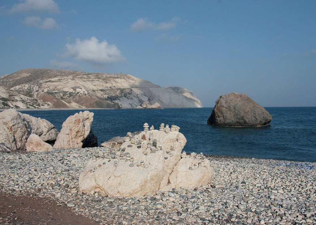 Roccia di Afrodite Pafo Cipro