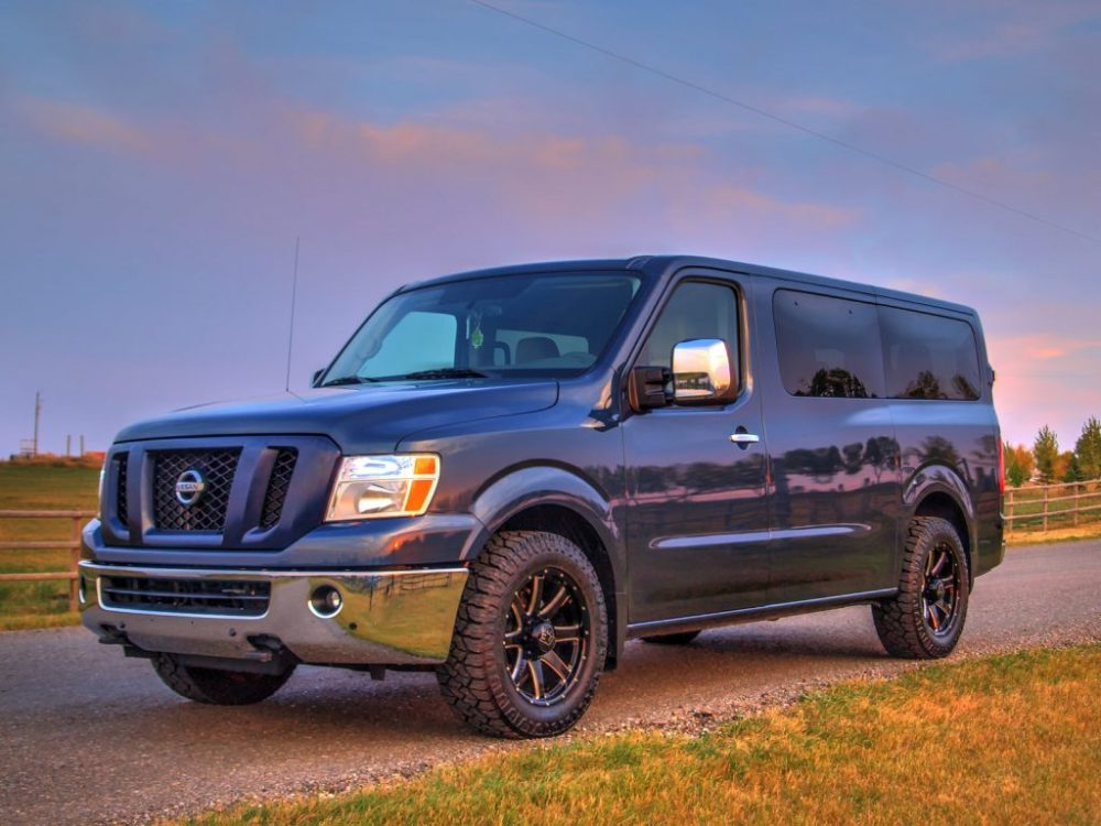 medium resolution of the most striking thing about nissan s take on the conversion vehicle is the van s ability to seat up to twelve people this means you ll have room for the