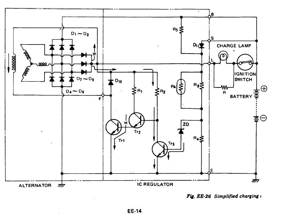 wgm internal regulator alternator wiring diagram wiring diagrams