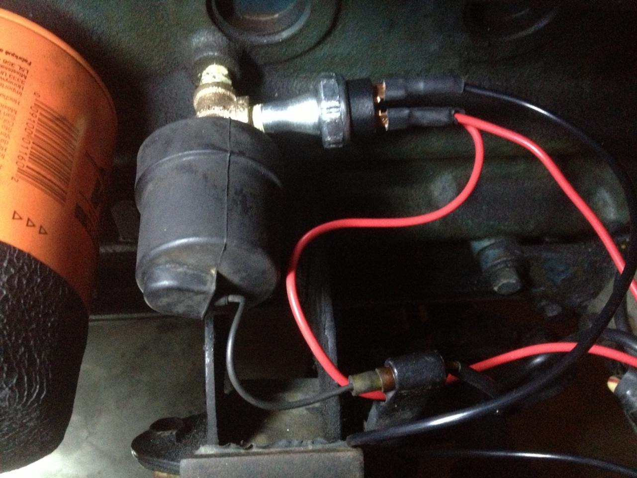 240z Electric Fuel Pump Installation Carburetor Central Classic