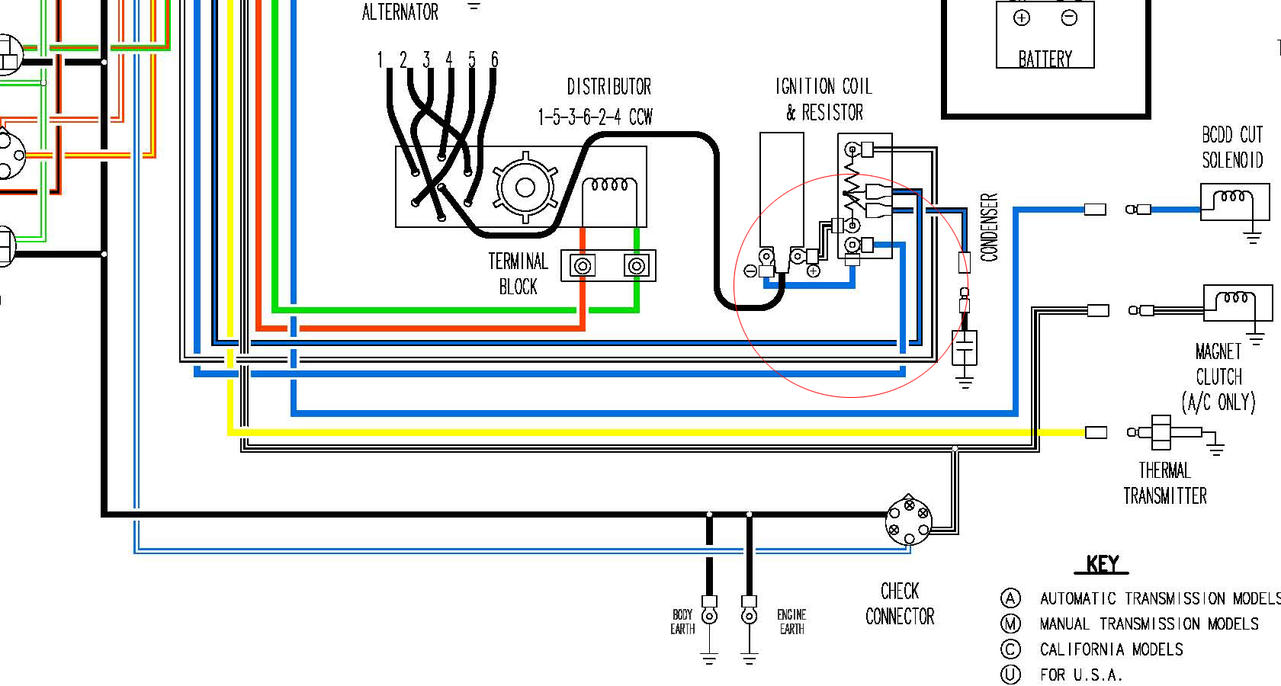 hight resolution of 1977 datsun 280z wiring diagram