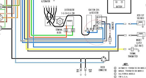 small resolution of 1977 datsun 280z wiring diagram
