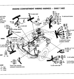 240z serie i color wiring diagram page 2 electrical the240z wiring diagram 6 [ 1280 x 921 Pixel ]
