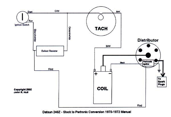 wiring pertronix distributor ford  wiring diagram solid