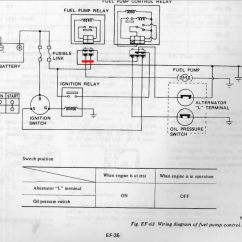 Fuel Pump Relay Wiring Diagram Shopping Uml Sequence Examples 1978 Z Control Injection The Classic Zcar Hot Wire Png