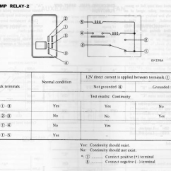 Club Car Relay Wiring Diagram Beetle 1972 1978 Z Fuel Pump Control Injection The