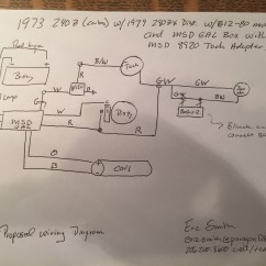 Msd 6al Wiring Diagram Mustang 5 0 05 Chevy Equinox Help 280zx E12 80 And To A 240z Electrical