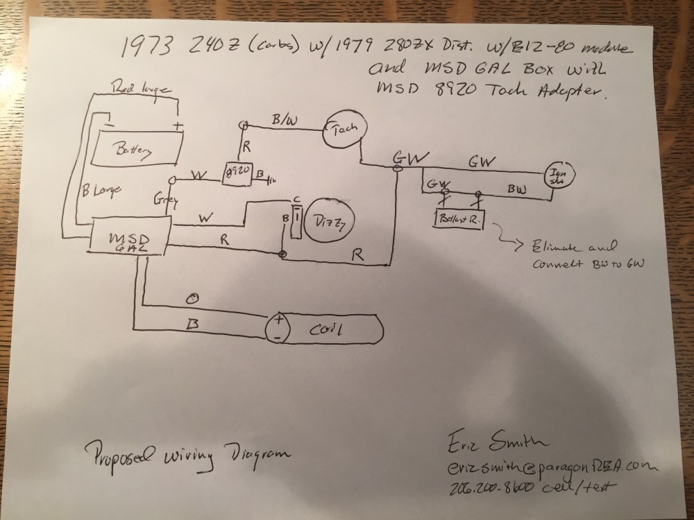 medium resolution of help 280zx e12 80 and msd 6al to a 240z electrical the classic msd wiring diagram 280zx