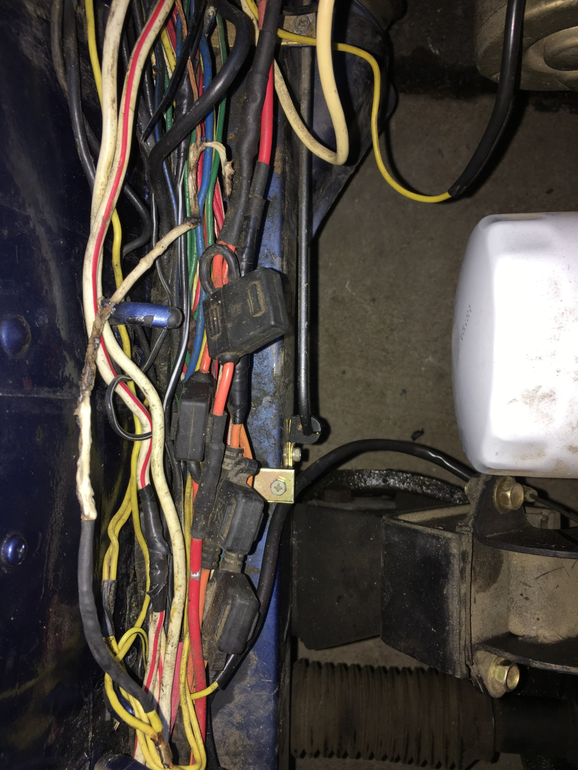 hight resolution of i have the hitachi alternator which i believe is stock the po did upgrade the wiring with relays