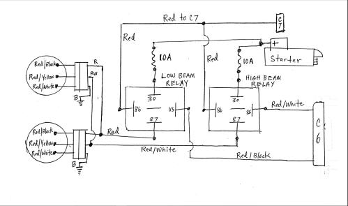 small resolution of ufo headlight wiring diagram wiring library rh 12 mac happen de 3 wire headlight wiring diagram basic headlight wiring diagram